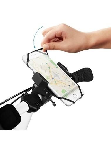 Spigen Bisiklet / Motorsiklet Araç Tutucu, Spigen Velo A251 Universal (Tüm Cihazlarla Uyumlu) Renkli